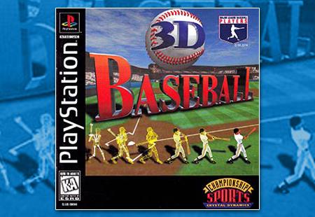 PSX 3D Baseball