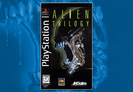 PSX ALien Trilogy Long Box Manual