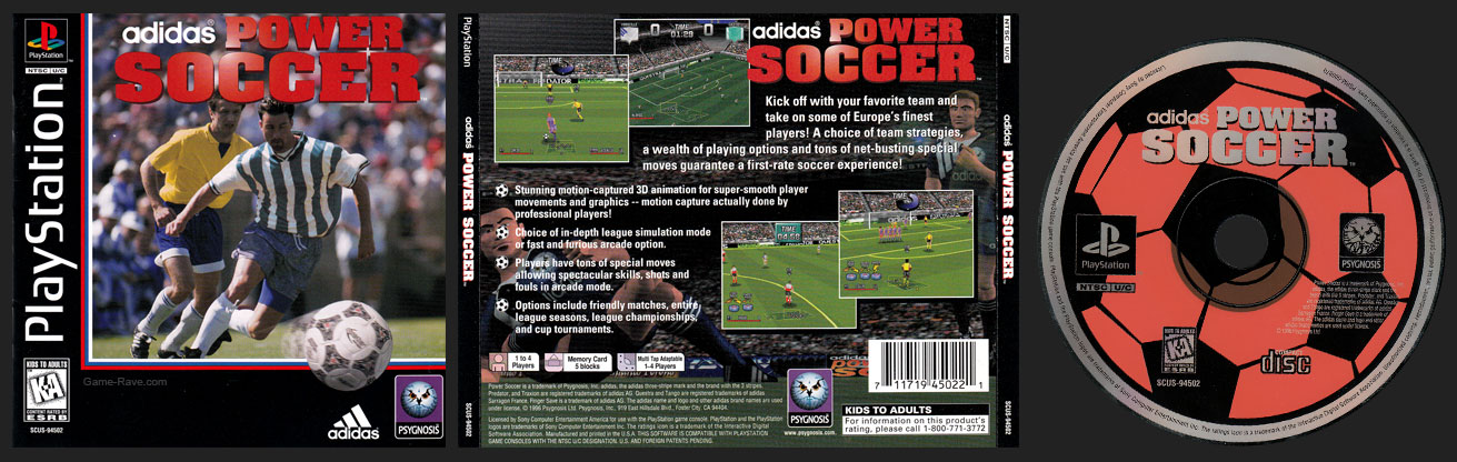 PSX Adidas Power Soccer Release