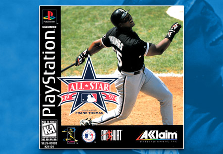 PSX Frank Thomas All-Star Baseball 97