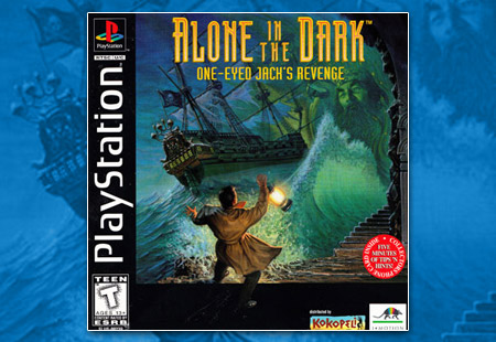 PSX Alone in the Dark 2 One Eyed Jack's Revenge