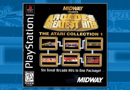 PSX Arcade's Greatest Atari Collection 1