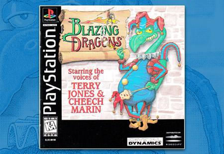 PSX Blazing Dragons