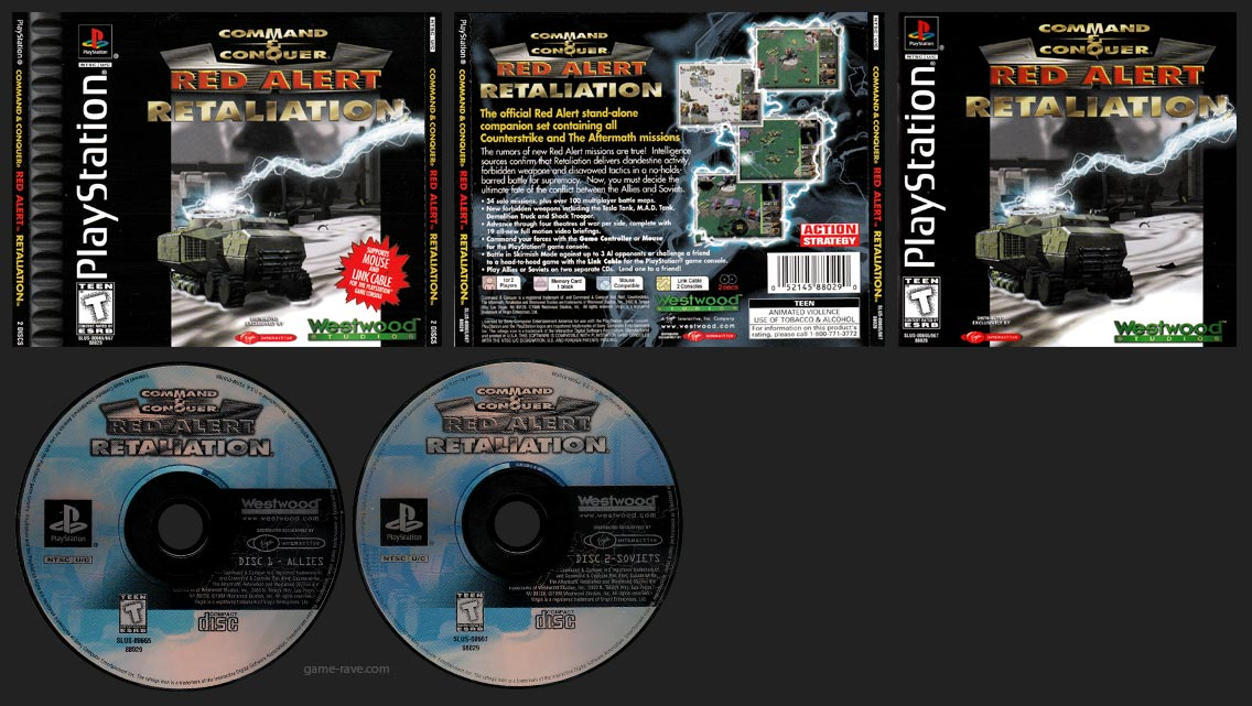 Command & Conquer Red Alert Retaliation Release