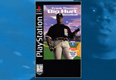 PSX Frank Thomas Big Hurt Baseball