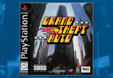 PSX Grand Theft Auto