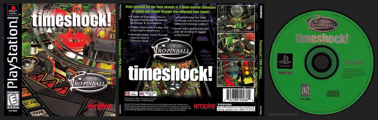 Pro Pinball Timeshock Jewel Case Release