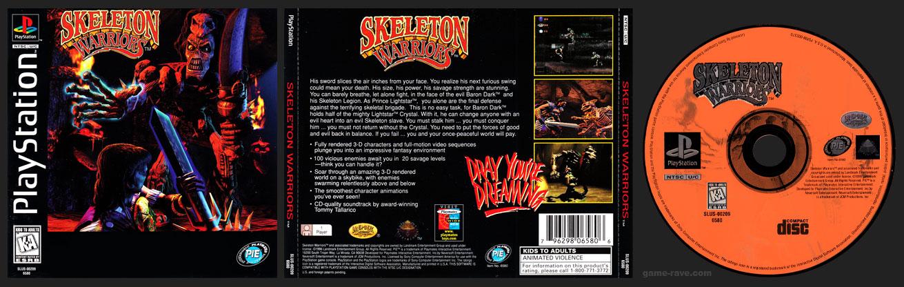 PSX PlayStation Skeleton Warriors 1 Ring Hub