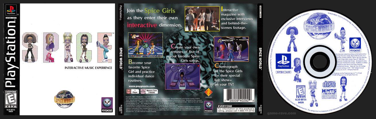 PSX PlayStation Spice World Black Label Retail Release