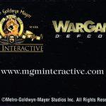 PSX WarGames Defcon 1 Phone Card