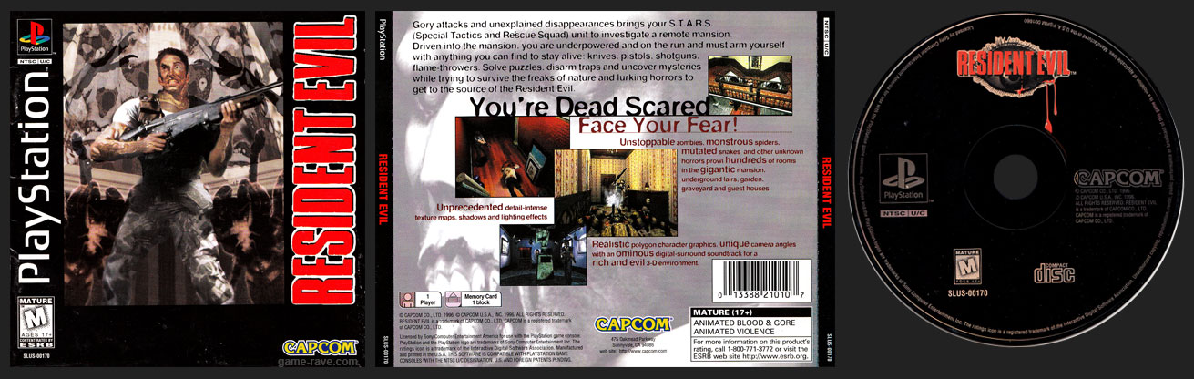 PSX PlayStation Jewel Case Variant Black Label Retail Release