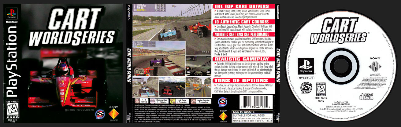 CART World Series Jewel Case Release