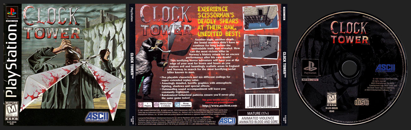 Clock Tower Jewel Case Release
