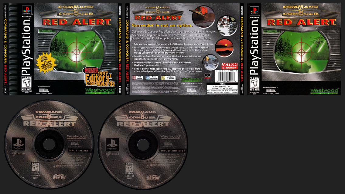 Command & Conquer: Red Alert Case Variant