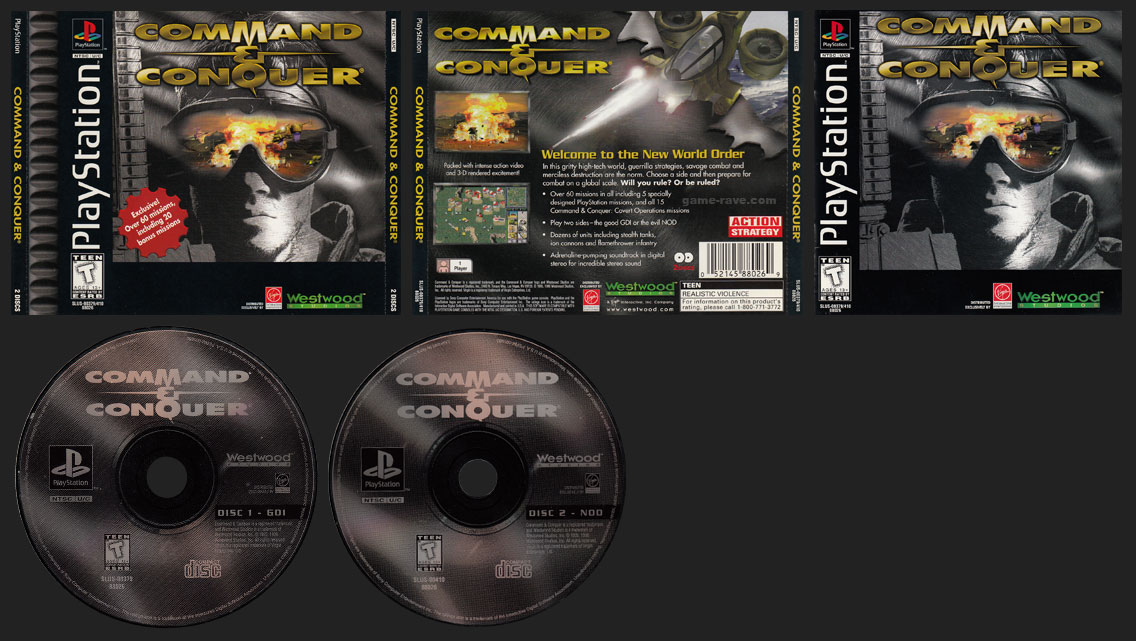 Command & Conquer Double Jewel Case Release