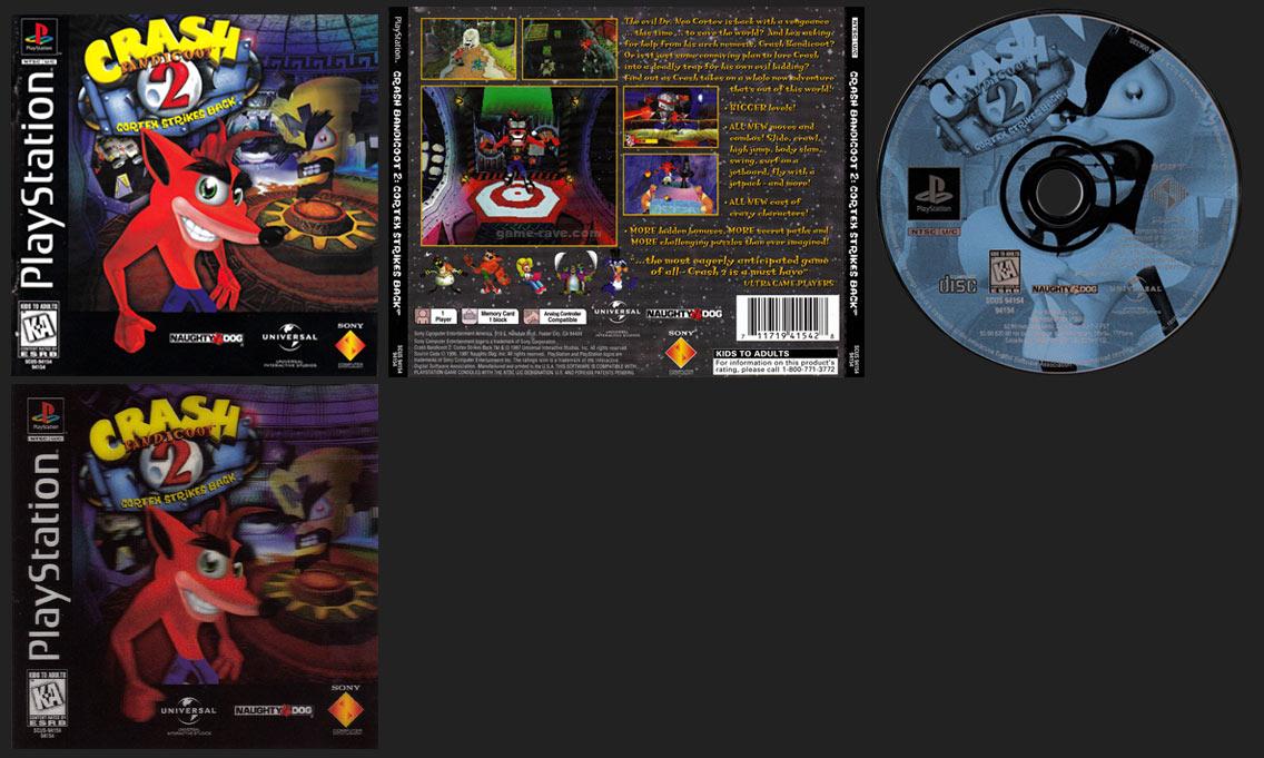 Crash Bandicoot 2 Lenticular Cover Version