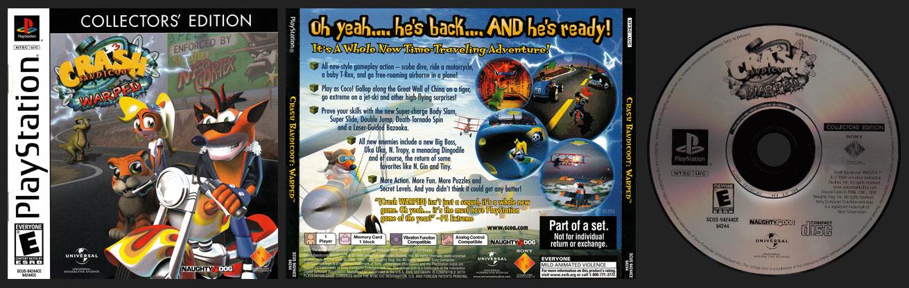 Crash Bandicoot: Warped Collector's Edition
