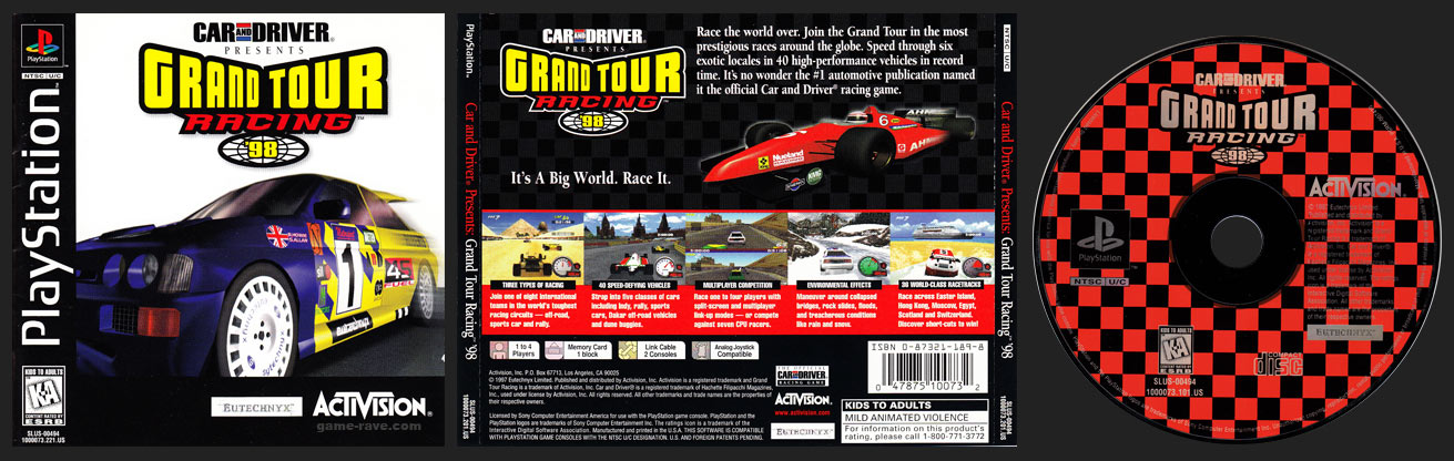 Grand Tour Racing Jewel Case Release