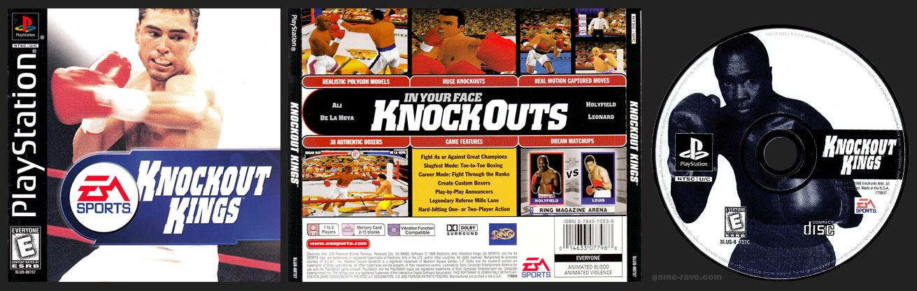 PSX PlayStation Knockout Kings Black Label Retail Release Variant