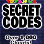 Brady Games Toys R Us Secret Codes Over 1,000 Cheats