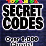 Brady Games Toys R Us Secret Codes Over 1,000 Cheats