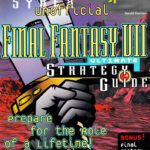 Sybex UnAuthorized FInal Fantasy VII Strategy Guide Book
