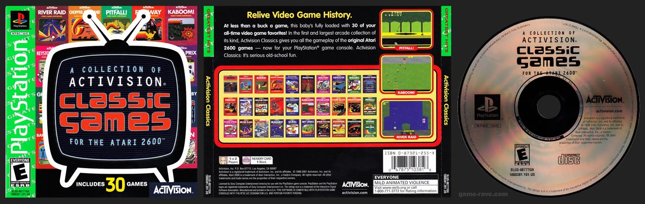 Activision Classics Greatest Hits Release
