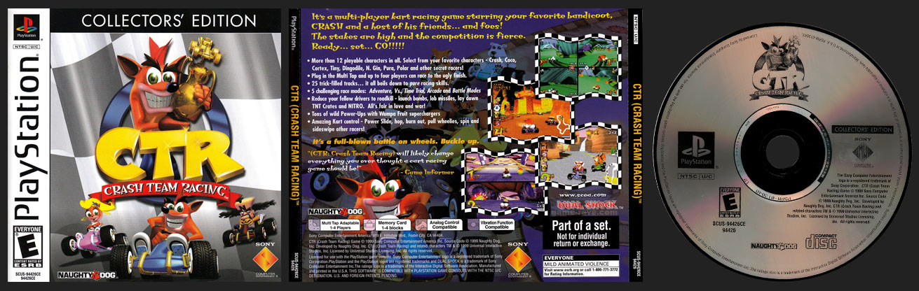 Crash Bandicoot Collector's Edition - game-rave com