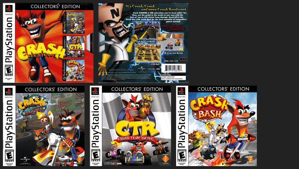 Crash Bandicoot Collector's Edition Release