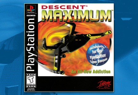 Descent Maximum - game-rave com - PlayStation Collector's Site