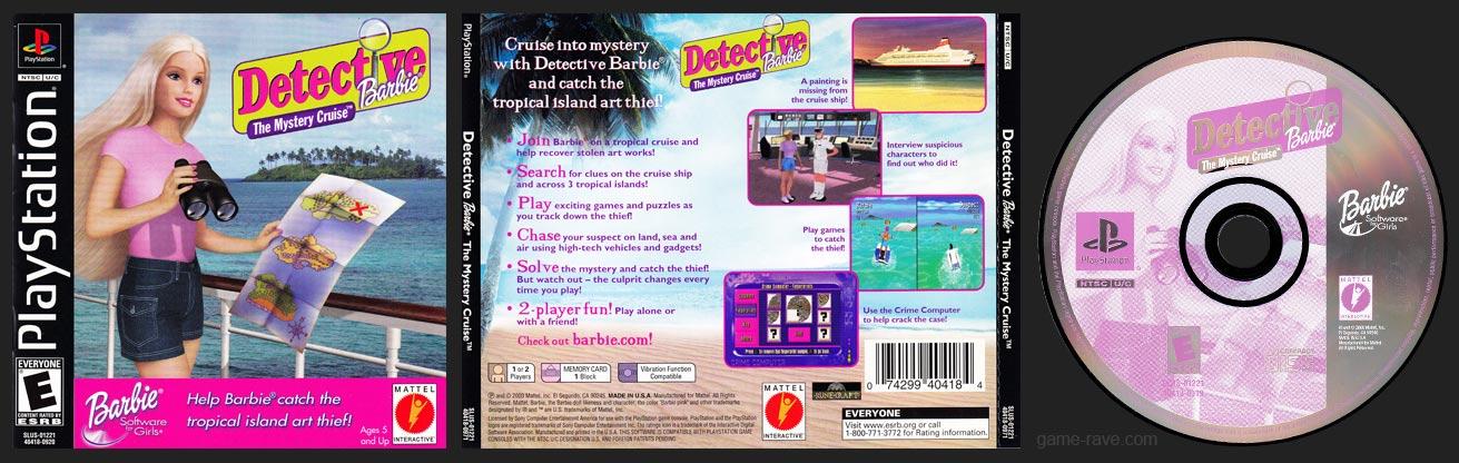 PSX PlayStation Detective Barbie Black Label Retail Release