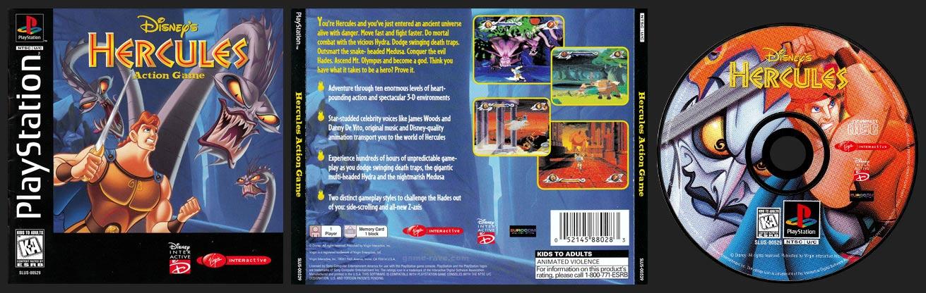 Disney's Hercules Virgin Interactive Release