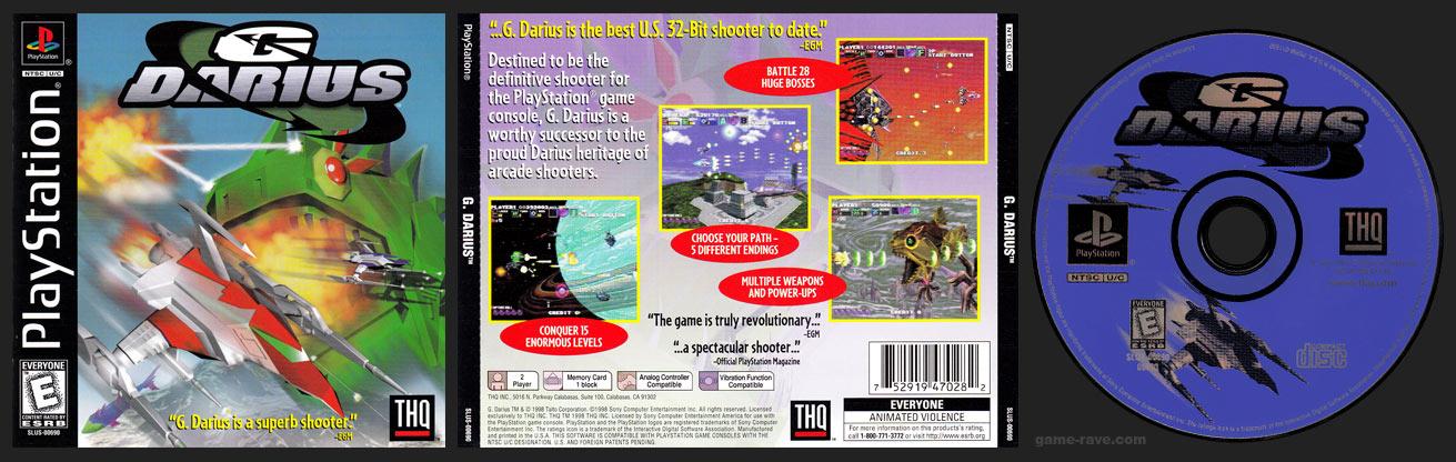 PSX PlayStation G. Darius Black Label Retail Release