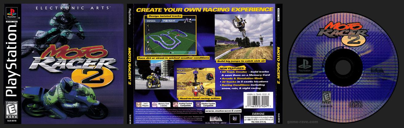 Moto Racer 2 Jewel Case Release