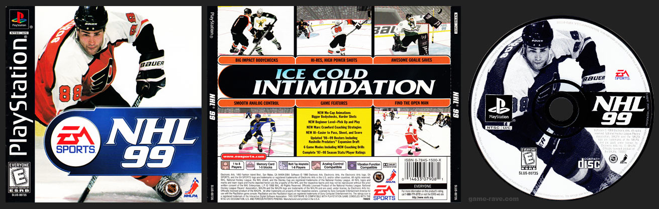 NHL 99 Jewel Case Release
