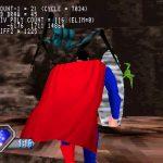 PlayStation Superman Unreleased Screenshots of Mine Level