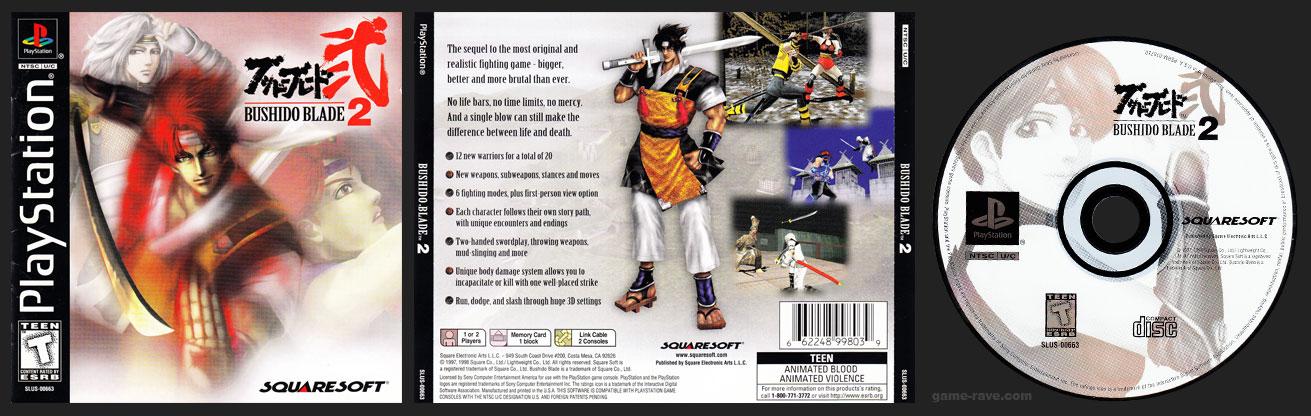 Bushido Blade 2 Game Ravecom Playstation Collectors Site