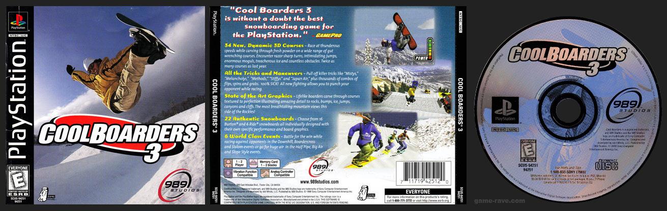Cool Boarders 3 Release