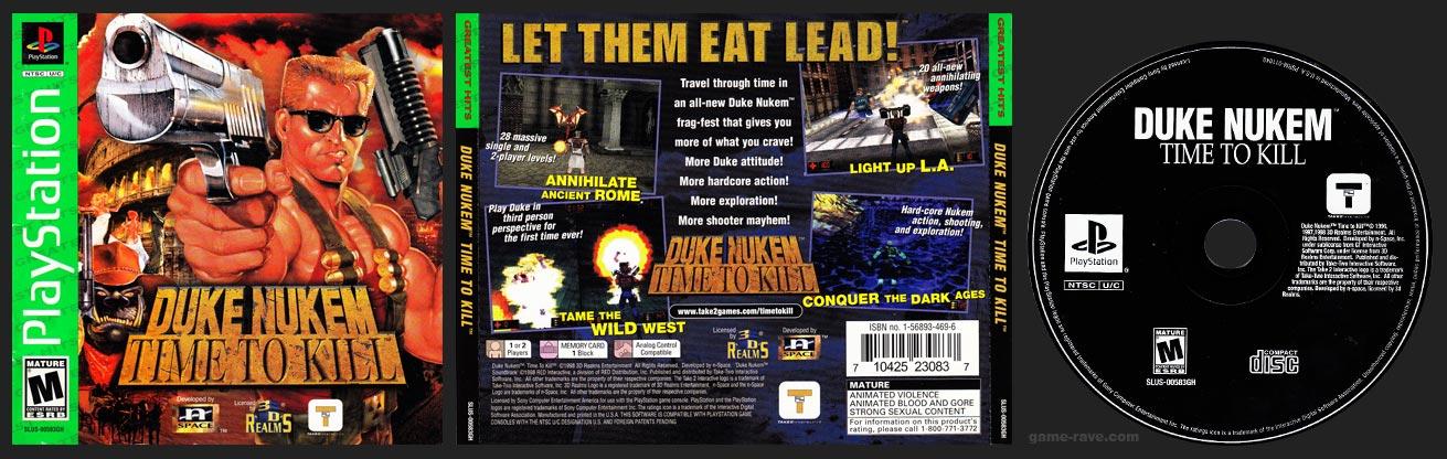 Duke Nukem Time to Kill Greatest Hits