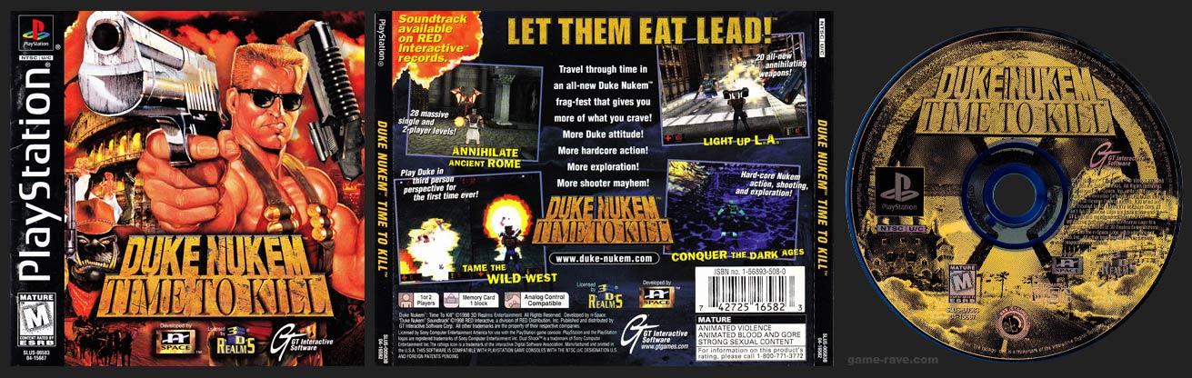 Duke Nukem: Time to Kill SLUS B Release