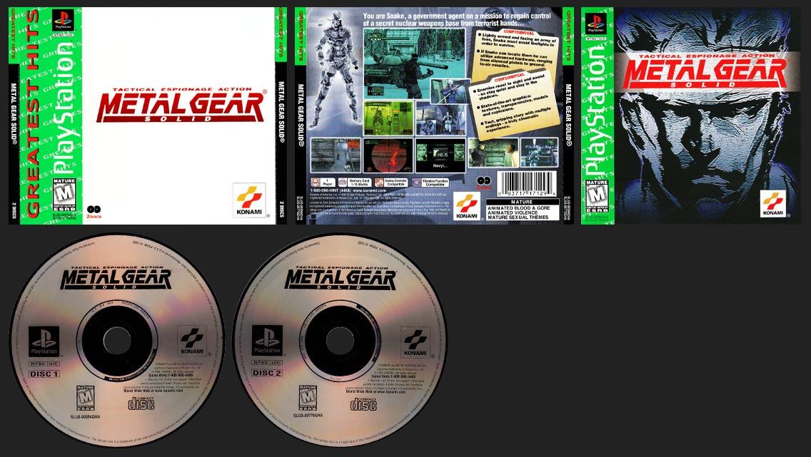 Metal Gear Solid GHA Edition