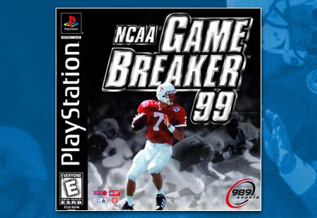 NCAA Game Breaker 99 Manual