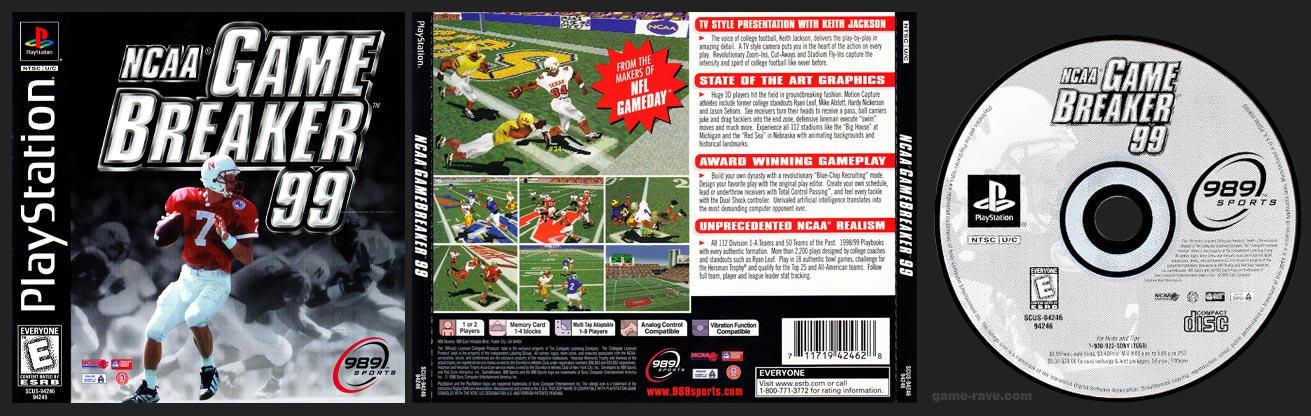 NCAA Game Breaker 99 Release