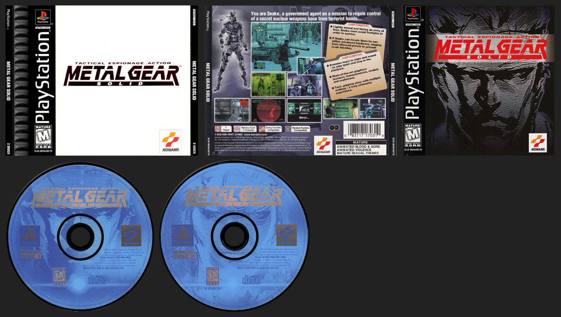 Metal Gear Solid Release