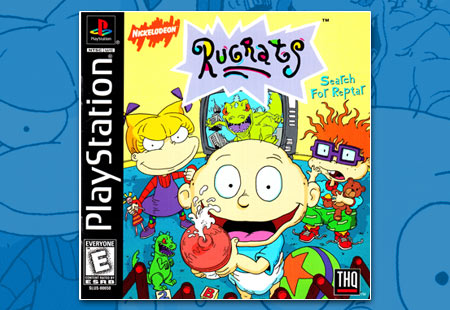 Rugrats Search for Reptar Manual