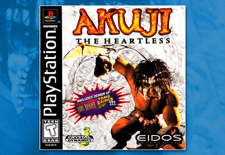 PSX Akuji the Heartless Manual