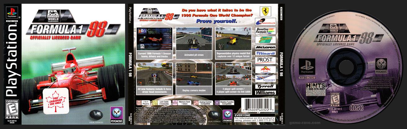 PSX Formula 1 98 Canadian Variant
