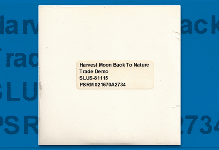 PSX Harvest Moon Trade Demo