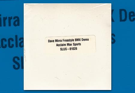 PSX Dave Mirra FreeStyle BMX