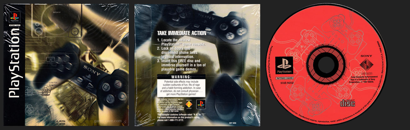 PSX PlayStation Take Immediate Action Demo